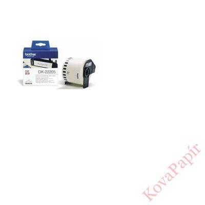 Etikett BROTHER DK-22205 papír címke 62mmx30,48m