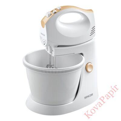 Tálas kézi mixer SENCOR SHM 5330 5 fokozatú fehér
