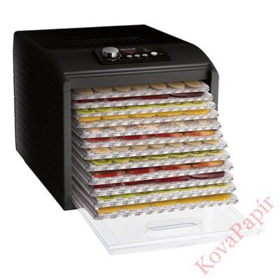Aszalógép SENCOR SFD 6600BK 12 tálcás fekete
