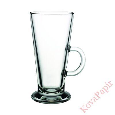 Pohár készlet caffe latte PASABAHCE Colombian üveg 455 ml 6 db/dob