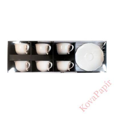 Pohár készlet kávés AMBITION Grace porcelán 6 db/dob
