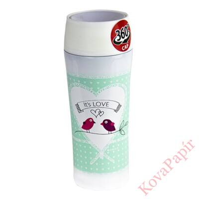 Termo bögre AMBITION Love It `Love 400ml