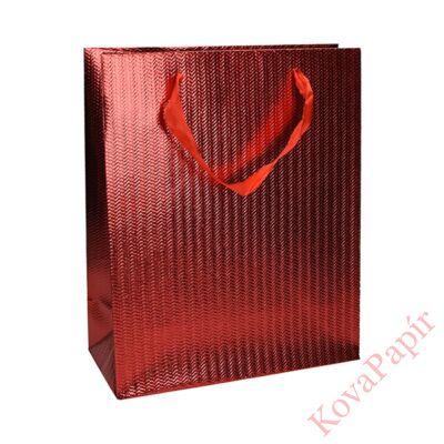 Ajándéktasak Eco Classic Plus L 26x32x12 elegáns vörös