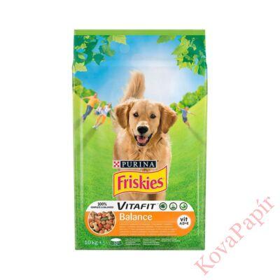 Állateledel száraz PURINA Friskies Vitafit Balance kutyáknak csirkehússal és zöldségekkel 10kg