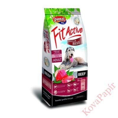Állateledel száraz PANZI FitActive Regular Hypoallergén felnőtt kutyáknak marha és csirke hússal 15 kg