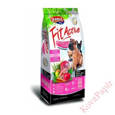 Állateledel száraz PANZI FitActive száraz kölyök kutyáknak báránnyal, almával és rizzsel 15 kg