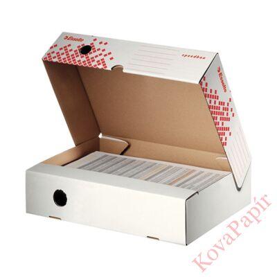 Archiváló doboz ESSELTE felfelé nyíló A/4 80mm fehér