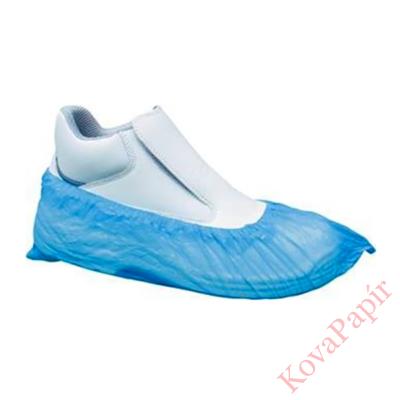 Cipővédő kék nylon gumis felsőrésszel 100db/doboz 50pár