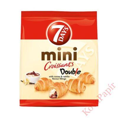 Croissant 7DAYS mini kakaós és vanília ízű töltelékkel 200g