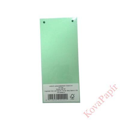 Elválasztócsík KASKAD 105x240mm 160 gr 65 zöld 50 db/csomag
