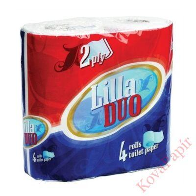 Toalettpapír HIGI/LILLA Duo 4 tekercses 2 rétegű
