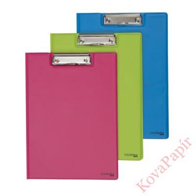 Felírótábla COLOR OFFICE A/4 fedeles pvc pasztell pink
