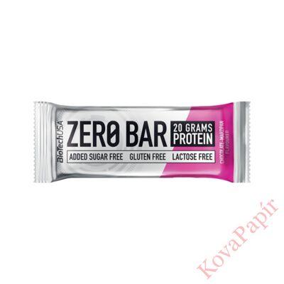 Fehérje BIOTECHUSA Zero Bar csoki-marcipán 50 g