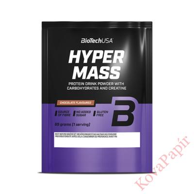 Fehérje komplex BioTechUSA Hyper Mass vanília 65 g