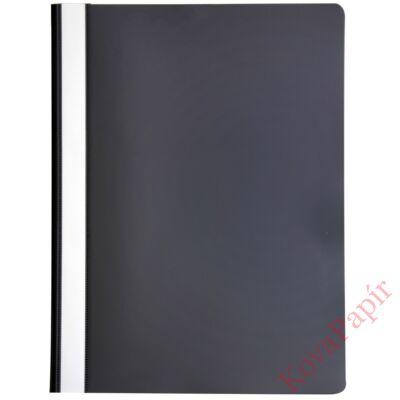 Gyorsfűző OPTIMA A/4 műanyag fekete