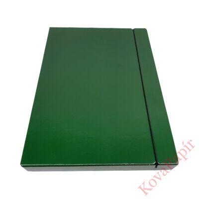 Gumis mappa FORTUNA 30 mm zöld