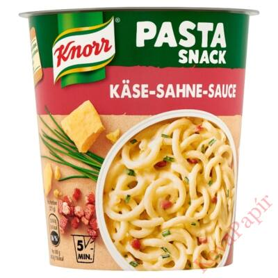 Instant tészta KNORR Snack Sajtos-tejszínes szósz 71g