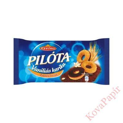 Keksz PILÓTA vaníliás karika étbevonóval 300 g