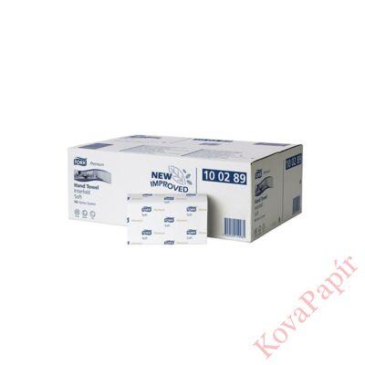 Kéztörlő TORK Xpress Soft Multifold Advanced H2 hajtogatású 2 rétegű fehér 150 lapos