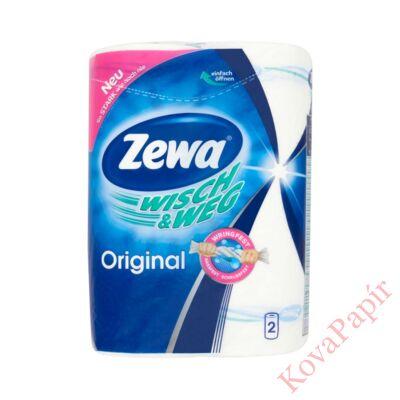 Kéztörlő tekercses háztartási ZEWA Premium 2 rétegű 2 tekercses 45 lap