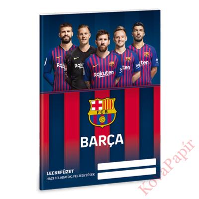 Leckefüzet ARS UNA A/5 32 lapos FC Barcelona