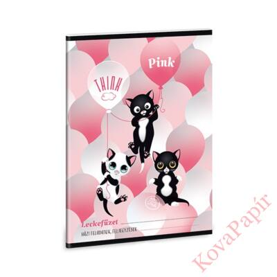 Leckefüzet ARS UNA A/5 32 laposThink Pink