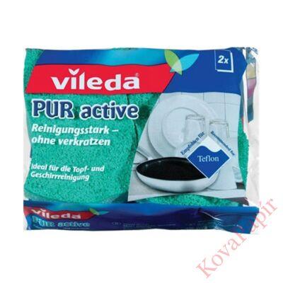 Mosogatószivacs VILEDA Pure Active 2db-os