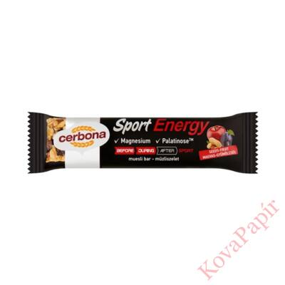 Müzliszelet CERBONA Energy magvas-gyümölcsös 35g