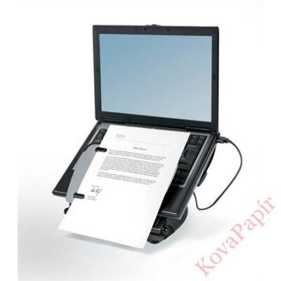 Notebook állvány Fellowes Professional Series USB portokkal Laptop Workstation