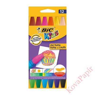Olajpasztell BIC 12 db/készlet