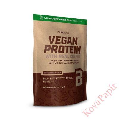 Protein Vegán BIOTECHUSA Kávé 500 g