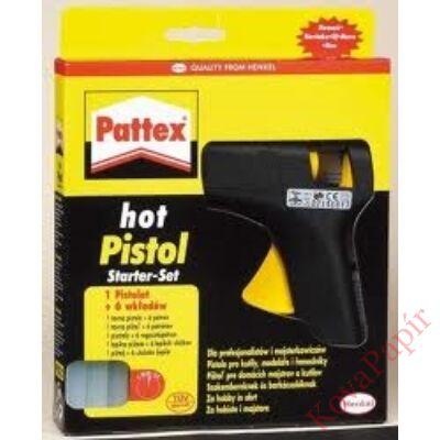 Ragasztópisztoly HENKEL Pattex +6 db ragasztópatron
