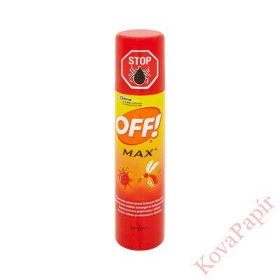 Rovarriasztó OFF! MAX szúnyog- kullancsriasztó 100 ml spray