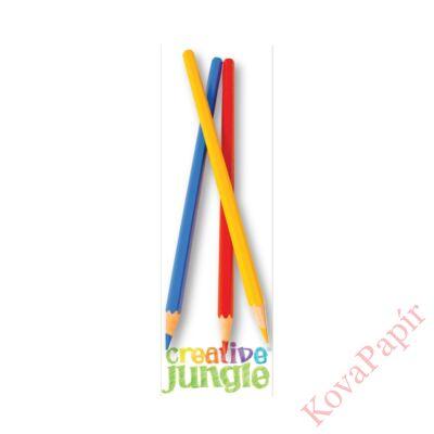 Színesceruza CREATIVE JUNGLE 6db-os