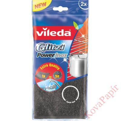 Súrolópárna VILEDA Glitzi Power Inox 2 db-os