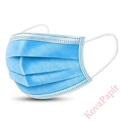 Szájmaszk orvosi 3 rétegű sterilizált kék