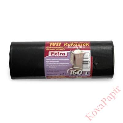 Kukazsák TUTI Extra 160 literes 80x120 cm 10 db/tekercs