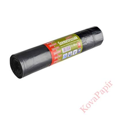 Szemeteszsák húzófüles MAZZINI 130 l 75x100 cm 10 db/tekercs