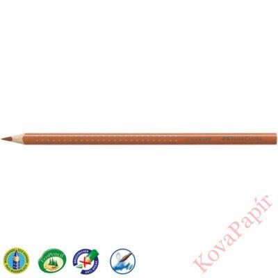 Színes ceruza FABER-CASTELL Grip 2001 háromszögletű barna