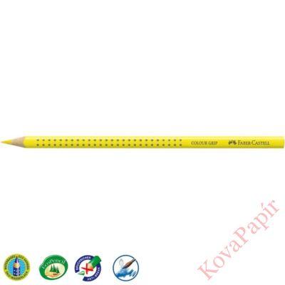 Színes ceruza FABER-CASTELL Grip 2001 háromszögletű középsárga