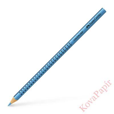 Színes ceruza FABER-CASTELL Grip 2001 háromszögletű metál kék