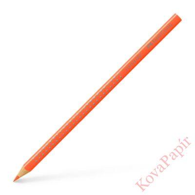 Színes ceruza FABER-CASTELL Grip 2001 háromszögletű neon narancssárga