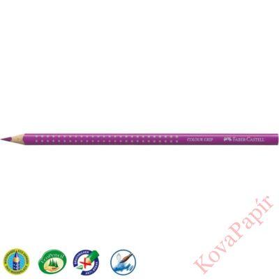 Színes ceruza FABER-CASTELL Grip 2001 háromszögletű sötét lila