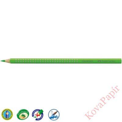 Színes ceruza FABER-CASTELL Grip 2001 háromszögletű világos zöld