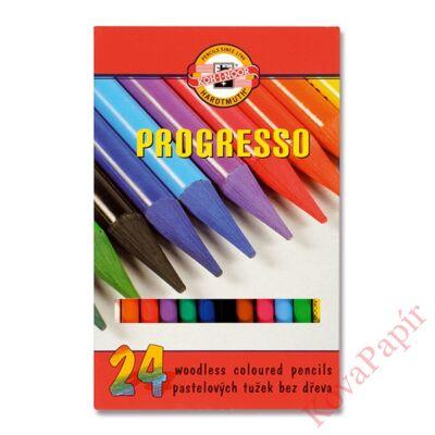 Színes ceruza KOH-I-NOOR 8758 Progresso hengeres 24 db/készlet