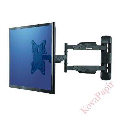 TV tartó kar Fellowes fali fekete