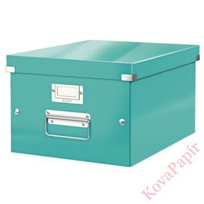 Tároló doboz LEITZ Click&Store A/4 jégkék