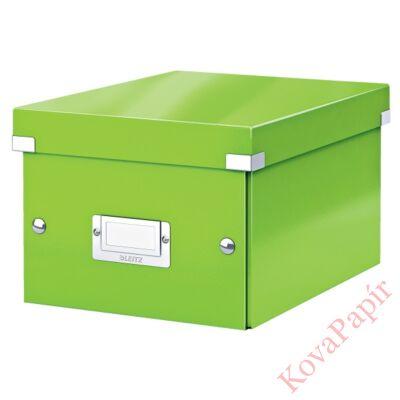 Tároló doboz LEITZ Click&Store A/5 zöld