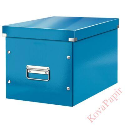 Tároló doboz LEITZ Click&Store L méret kocka kék