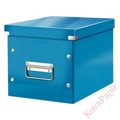 Tároló doboz LEITZ Click&Store M méret kocka kék